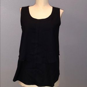 Ann Taylor Navy Sleeveless Top